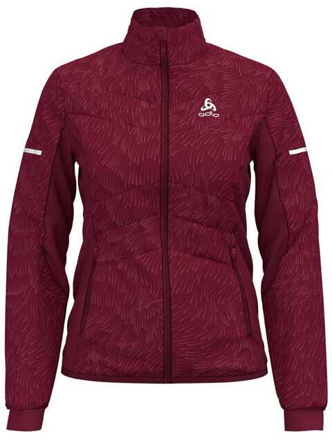 Odlo W's Irbis X-Warm Jacket rumba red